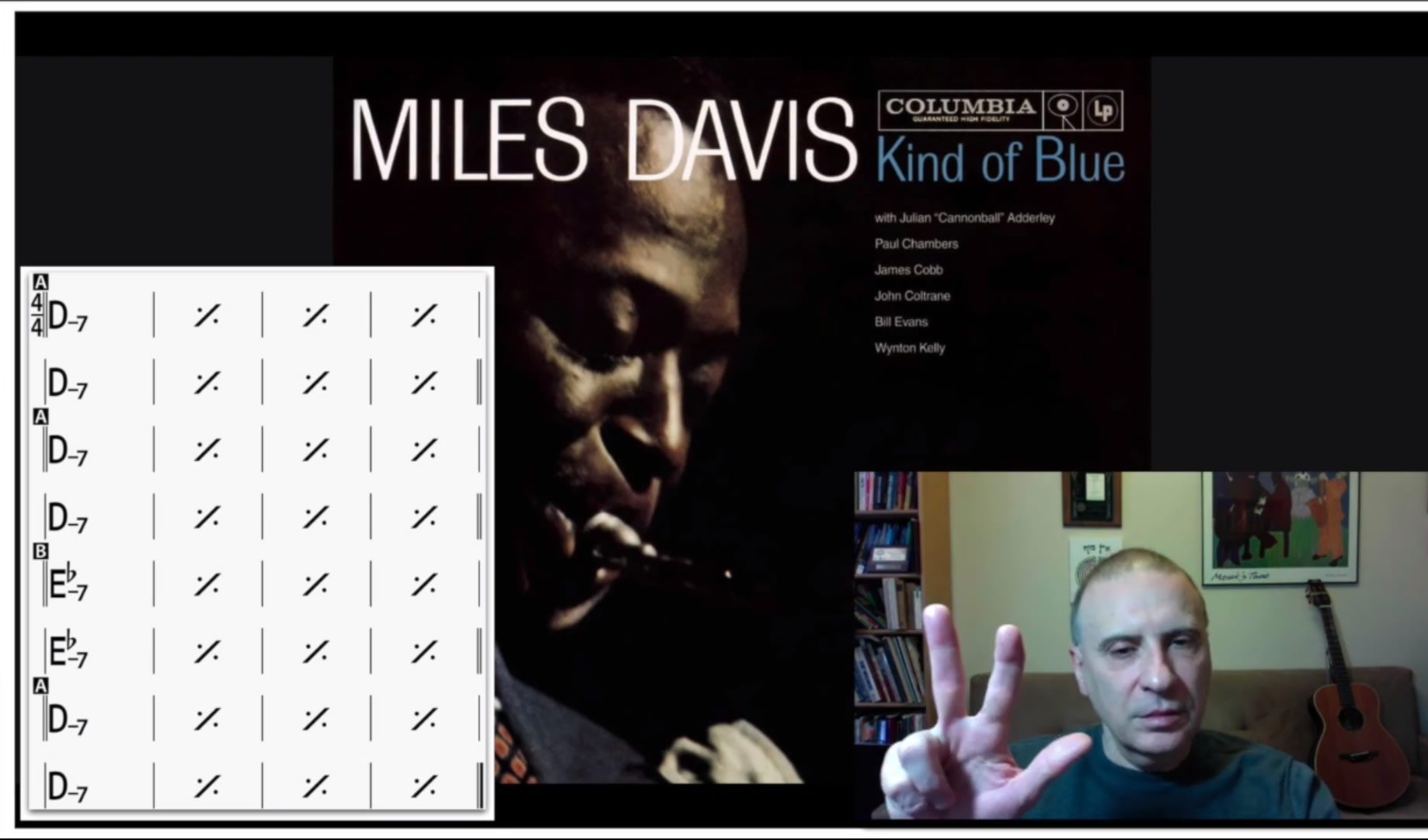 Kind of Blue, bar form