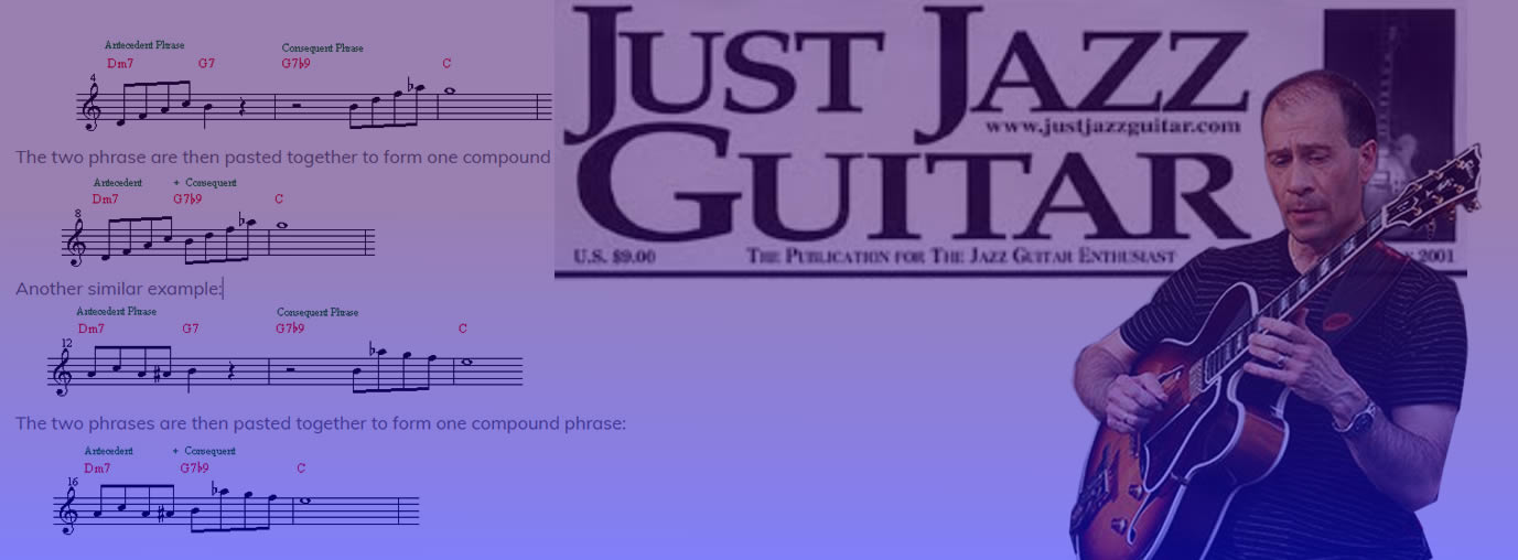 Jazz Improvisation: Antecedent-Consequent Phrases - Dan Adler